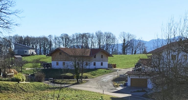 Richtung Süden Bergblick